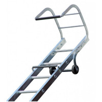 Lyte TRL155 Trade Roof Ladder 5.46m Aluminium Single Section 1x21 Rung
