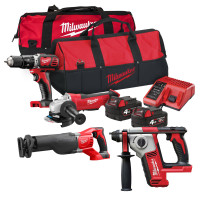 Milwaukee M18 BPP20 Quad Pack 18V 2 x 4.0Ah Li-ion batteries