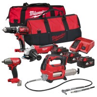 Milwaukee M18 BPP20 Quad  Pack 18V 3 x 4.0Ah Li-ion Batteries