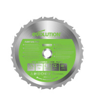 Evolution FURY Multi-Purpose TCT Circular Saw Blade 210 x 25.4mm x 20T