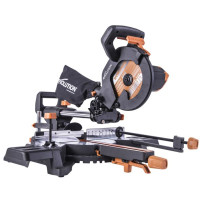 Evolution R210SMS-300+ Pro Multi-Material Sliding Mitre Saw 210mm 1500W 240V