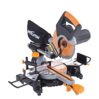 Evolution RAGE3-S+ Self Assembly Multi-Purpose Sliding Mitre Saw 210mm 1500W 110V