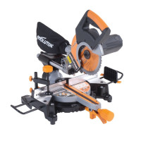 Evolution RAGE3-S+ Self Assembly Multi-Purpose Sliding Mitre Saw 210mm 1500W 240V