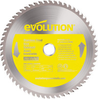 Evolution Stainless Steel Cutting Circular Saw Blade 230 x 1.8 x 25.4mm x 60T | Toolden