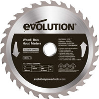 Evolution Wood Cutting Circular Saw Blade 180 x 2.2 20mm x 30T |Toolden
