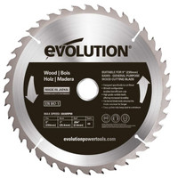 Evolution Wood Cutting Circular Saw Blade 230 x 2.4 x 25.4mm x 40T | Toolden