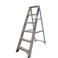 Lyte NESS6 EN131-2 Professional Stepladder Swingback Step 6 Tread