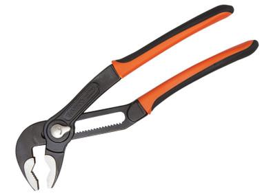 Bahco BAH7224 7224 Quick Adjust Slip Joint Pliers 250mm - 61mm Capacity | Toolden