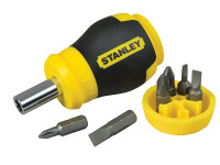 Stanley STA066357 Stubby Screwdriver - Non Ratchet | Toolden