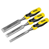 Stanley STA516359 DYNAGRIP™ Bevel Edge Chisel with Strike Cap Set of 3
