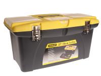 Stanley STA192908 Jumbo Toolbox & Tray 55cm (22in) | Toolden