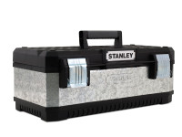 Stanley STA195618 Galvanised Metal Toolbox 50cm (20in) | Toolden
