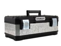 Stanley STA195618 Galvanised Metal Toolbox 50cm (20in) | Toolden