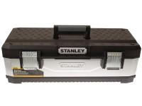 Stanley STA195620 Galvanised Metal Toolbox 66cm (26in) | Toolden