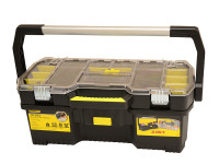 Stanley STA197514 Toolbox with Tote Tray Organiser 60cm (24in) | Toolden