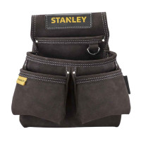 Stanley STA180116 STST1-80116 Leather Double Nail Pocket Pouch