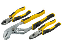 Stanley STA074471 ControlGrip™ Plier Set 3 Piece | Toolden