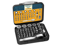 Stanley STA182834 175th Anniversary 1/4in Mixed Socket Set 39 Piece | Toolden