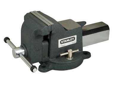 Stanley STA183066 MaxSteel Heavy-Duty Bench Vice 100mm (4in) | Toolden
