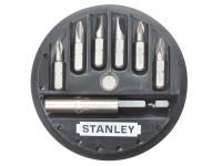Stanley STA168737 Insert Bit Set Phillips/Slotted/Pozidriv 7 Piece | Toolden