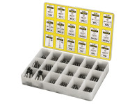 Stanley STA168741 Insert Bits Assorted Tray 200 Pozi / Phillips/ Slotted | Toolden