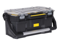Stanley STA170317 Toolbox with Tote Tray Organiser 50cm (19in) | Toolden