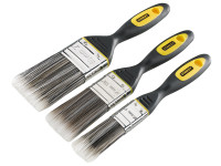 Stanley STASTPPDS3Z DynaGrip™ Synthetic Brush Pack Set of 3 25 38 & 50mm | Toolden