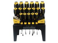 Stanley STA074958 Screwdriver Set^ in Rack 44 Piece SL/PH/PZ/TX | Toolden