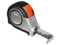 Bahco BAHMTS525E MTS Reversible Magnetic Tip Auto Pocket Tape 5m/16ft (Width 25mm) | Toolden