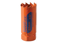 Bahco BAH383022VP 3830-22-VIP Bi-Metal Variable Pitch Holesaw 22mm | Toolden