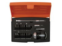 Bahco BAH808050S22 808050S-22 Stubby Ratchet Screwdriver Set 22 Piece | Toolden