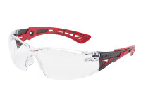 Bolle Safety BOLRUSHPPSI RUSH+ Safety Glasses - Clear | Toolden