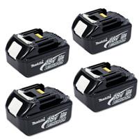 Makita Battery BL1830 18 Volt 3Ah Lithium-Ion - Quadruple Pack