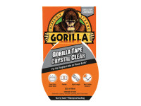 Gorilla Glue GRGCLTAPE48 Gorilla Tape Crystal Clear 48mm x 8.2m | Toolden