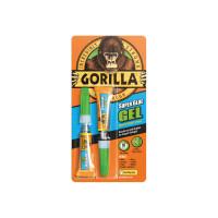Gorilla Glue GRGSGG23 Gorilla Super Glue Gel 3g (2) | Toolden