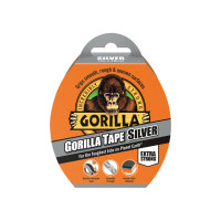 Gorilla Glue GRGCLOTHSIL Silver Gorilla Tape 48mm x 11m | Toolden