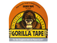 Gorilla Glue GRGSITAPE48 Gorilla Tape Silver 48mm x 32m | Toolden