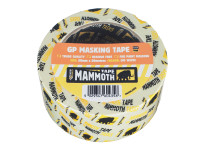 Everbuild EVB2MT50 Retail Masking Tape 50mm x 50m | Toolden