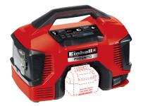 Einhell EINPRESSITO Pressito Hybrid Air Compressor 18V Bare Unit | Toolden