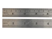 Fisher FIS112 F112ME Steel Rule 300mm / 12in   Toolden