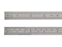 Fisco FSC712S 712S Stainless Steel Rule 300mm / 12in   Toolden