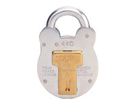 Henry Squire HSQ440 440 Old English Padlock with Steel Case 51mm | Toolden