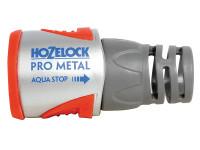 Hozelock HOZ2035 2035 Pro Metal AquaStop Hose Connector 12.5 - 15mm (1/2 - 5/8in) | Toolden