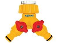 Hozelock HOZ2256 Dual Control Tap Connector 3/4in BSP | Toolden