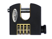 Henry Squire HSQSHCB65 SHCB65 Stronghold Re-Codeable Padlock 4-Wheel | Toolden