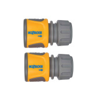 Hozelock HOZ20706025 2070 Soft Touch Hose End Connector Pack of 2 | Toolden