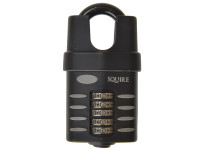 Henry Squire HSQCP60CS CP60 Combination Padlock 5-Wheel 60mm Close Shackle | Toolden