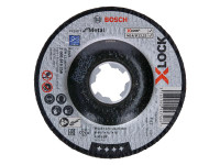 Bosch BSH619256 X-LOCK Expert for Metal Depressed Centre Cutting Disc 115 x 2.5 x 22.23mm   Toolden