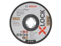 Bosch BSH619262 X-LOCK Standard Inox Cutting Disc 125 x 1 x 22.23mm   Toolden