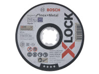Bosch BSH619263 X-LOCK Expert for Inox Cutting Disc 115 x 1 x 22.23mm   Toolden